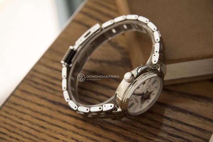 Đồng hồ Seiko SSA821J1 lộ cơ, đính kim cương sang trọng - Ảnh 5