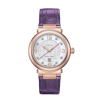 TOP 5 mẫu đồng hồ nữ đính kim cương cao cấp của Doxa - Ảnh 6