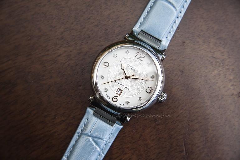 TOP 5 mẫu đồng hồ nữ đính kim cương cao cấp của Doxa - Ảnh 1
