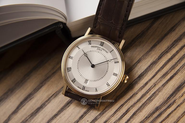 10 thương hiệu đồng hồ siêu mỏng nổi tiếng nhất Việt Nam - Frederique Constant FC-306MC4S35 cơ siêu mỏng 7.7mm