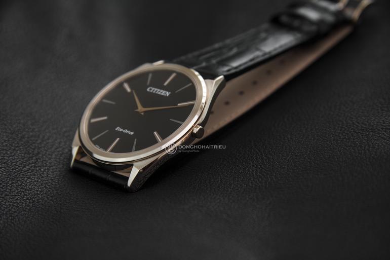 10 thương hiệu đồng hồ siêu mỏng nổi tiếng nhất Việt Nam - đồng hồ siêu mỏng Citizen AR3073-06E năng lượng ánh sáng