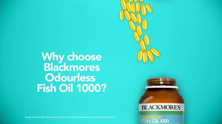 60 Món Quà Tặng Sinh Nhật Cho Bạn Trai Theo Từng Độ Tuổi - Tuổi từ 24-30 - Ảnh: Blackmores Odourless Fish Oil 1000
