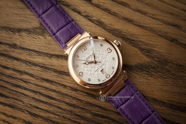 7 mẫu đồng hồ mặt số đặc biệt, có khảm xà cừ của Doxa - Ảnh 2