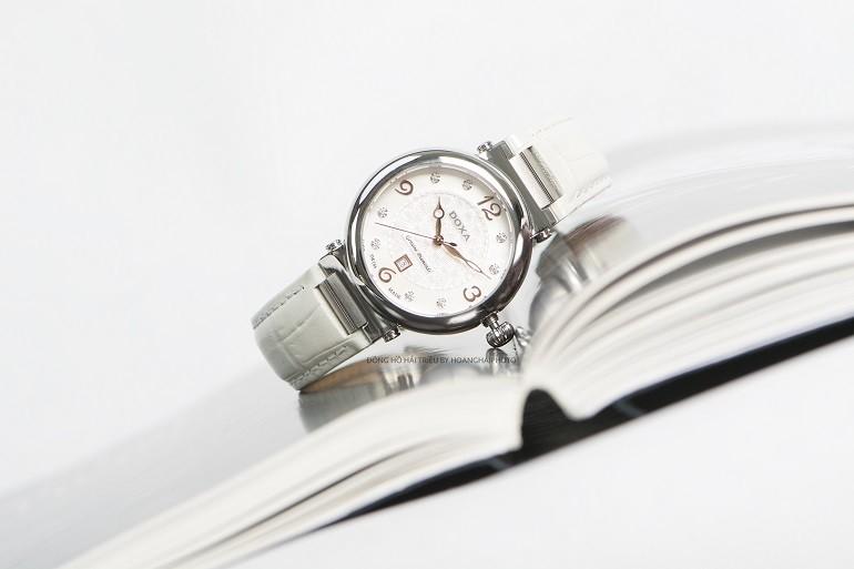7 mẫu đồng hồ mặt số đặc biệt, có khảm xà cừ của Doxa - Ảnh 5