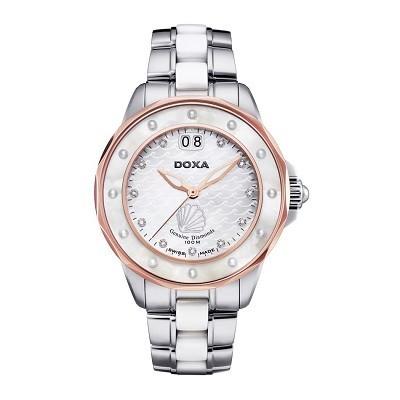 7 mẫu đồng hồ mặt số đặc biệt, có khảm xà cừ của Doxa - Doxa D151RMW