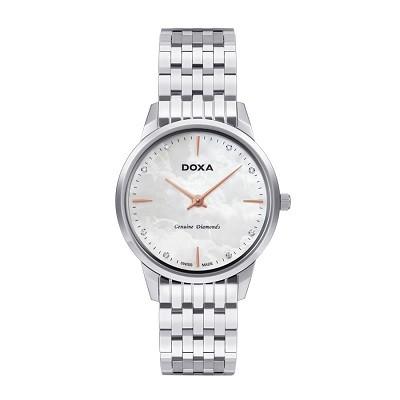 7 mẫu đồng hồ mặt số đặc biệt, có khảm xà cừ của Doxa - Doxa D158SWH