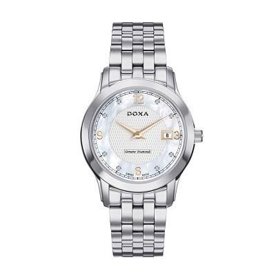 7 mẫu đồng hồ mặt số đặc biệt, có khảm xà cừ của Doxa - Doxa D168SWH