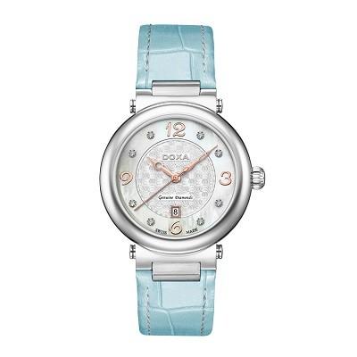 7 mẫu đồng hồ mặt số đặc biệt, có khảm xà cừ của Doxa - Doxa D182SWB