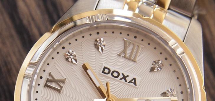 8 Viên Kim Cương Thật Trên Đồng Hồ Doxa D174TWH - Ảnh: 1