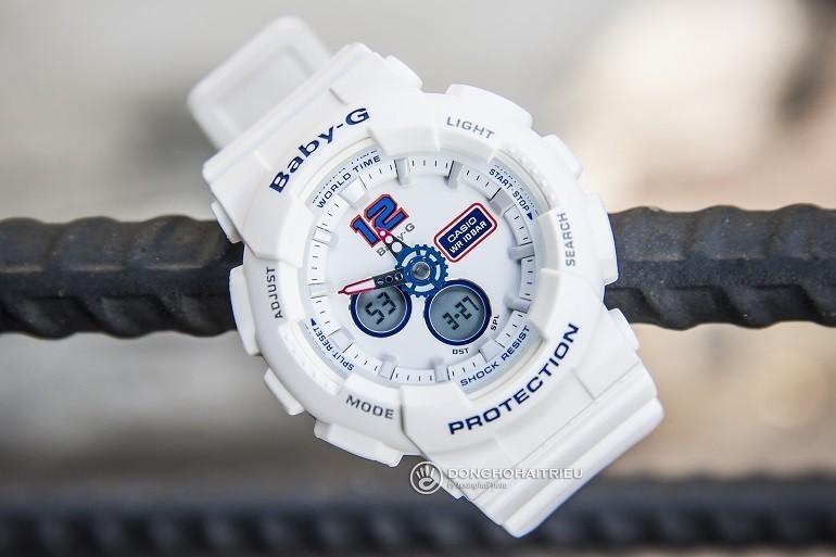 9 lưu ý đặc biệt quan trọng khi mua đồng hồ điện tử cho bé gái - Ảnh: Baby-G BA-120TR-7BDR
