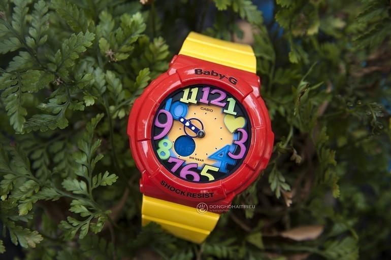 9 lưu ý đặc biệt quan trọng khi mua đồng hồ điện tử cho bé gái - Ảnh: Baby-G BGA-131-4B5DR