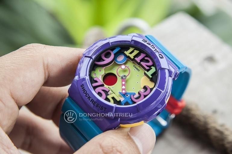 9 lưu ý đặc biệt quan trọng khi mua đồng hồ điện tử cho bé gái - Ảnh: Baby-G BGA-131-6BDR