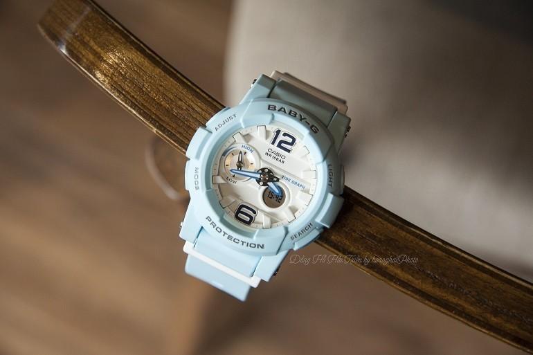 9 lưu ý đặc biệt quan trọng khi mua đồng hồ điện tử cho bé gái - Ảnh: Baby-G BGA-180BE-2BDR