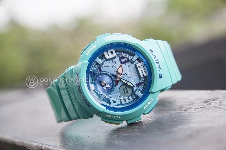 9 lưu ý đặc biệt quan trọng khi mua đồng hồ điện tử cho bé gái - Ảnh: Baby-G BGA-190-3BDR