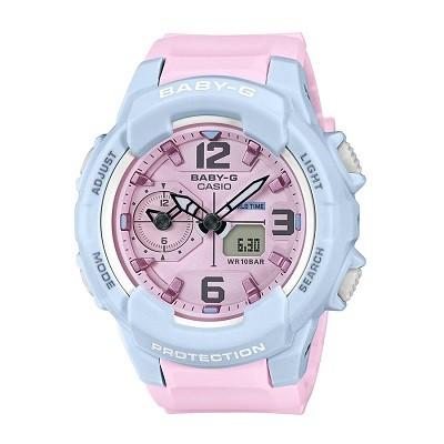 9 lưu ý đặc biệt quan trọng khi mua đồng hồ điện tử cho bé gái - Ảnh: Baby-G BGA-230PC-2BDR