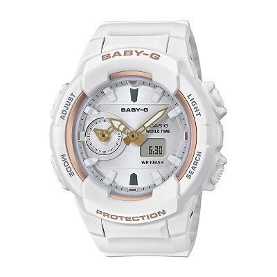 9 lưu ý đặc biệt quan trọng khi mua đồng hồ điện tử cho bé gái - Ảnh: Baby-G BGA-230SA-7ADR