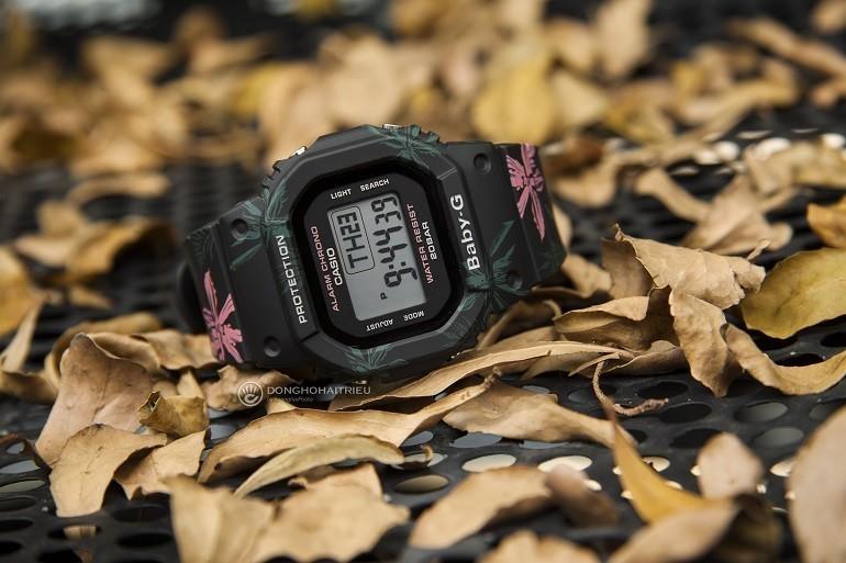 9 lưu ý đặc biệt quan trọng khi mua đồng hồ điện tử cho bé gái - Ảnh: Baby-G BGD-560CF-1DR