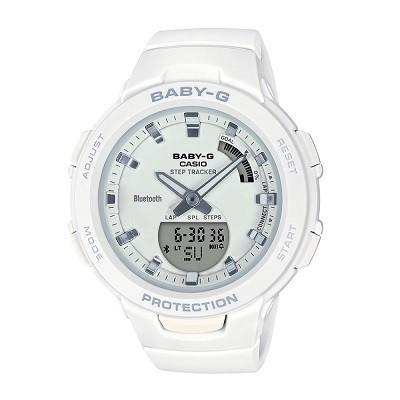 9 lưu ý đặc biệt quan trọng khi mua đồng hồ điện tử cho bé gái - Ảnh: Baby-G BSA-B100-7ADR