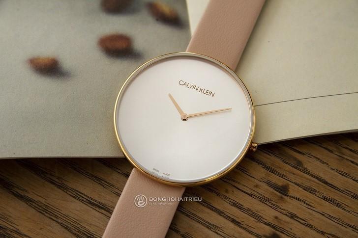 Đồng hồ nữ thời trang Calvin Klein K8Y236Z6 thiết kế siêu mỏng - Ảnh 3