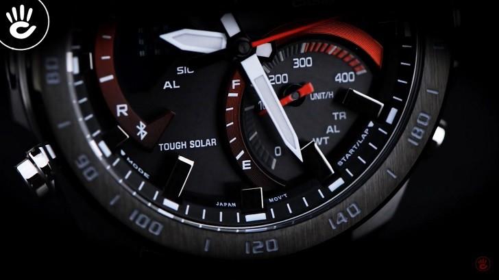 Đồng hồ Casio ECB-900DB-1ADR bộ máy năng lượng ánh sáng - Ảnh 3