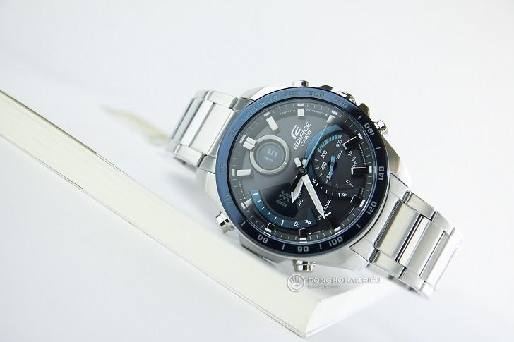 Đồng hồ nam Casio ECB-900DB-1BDR giá rẻ, thay pin miễn phí - Ảnh 1