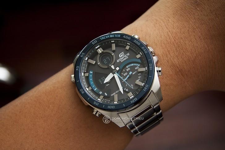Đồng hồ nam Casio ECB-900DB-1BDR giá rẻ, thay pin miễn phí - Ảnh 2