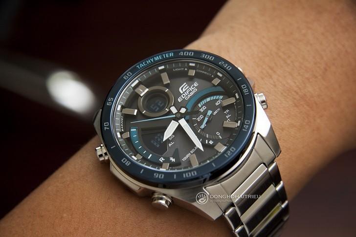 Đồng hồ nam Casio ECB-900DB-1BDR giá rẻ, thay pin miễn phí - Ảnh 4