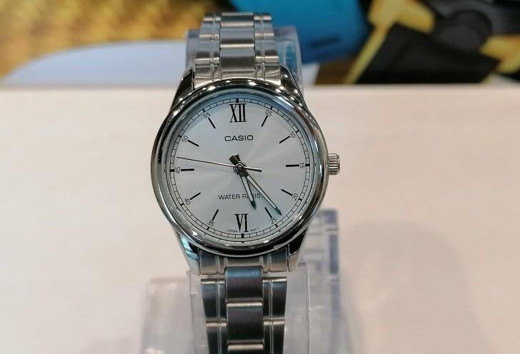 Đồng hồ Casio LTP-V005D-2B3UDF giá rẻ, thay pin miễn phí - Ảnh 2