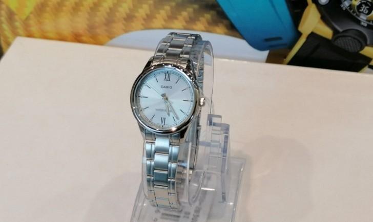 Đồng hồ Casio LTP-V005D-2B3UDF giá rẻ, thay pin miễn phí - Ảnh 4