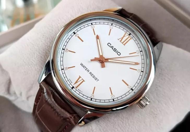Đồng hồ Casio LTP-V005L-7B3UDF giá rẻ, thay pin miễn phí - Ảnh 3