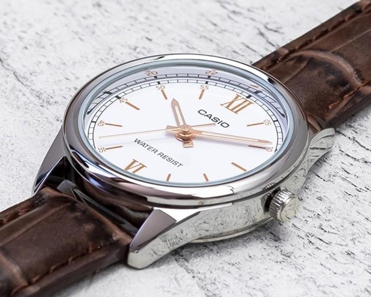 Đồng hồ Casio LTP-V005L-7B3UDF giá rẻ, thay pin miễn phí - Ảnh 5