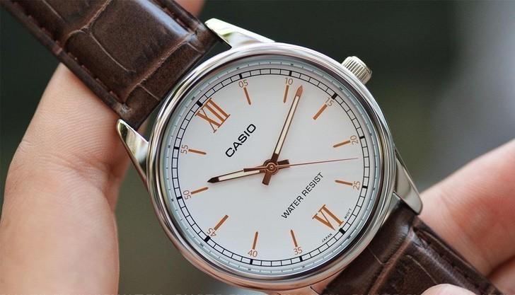 Đồng hồ Casio LTP-V005L-7B3UDF giá rẻ, thay pin miễn phí - Ảnh 6