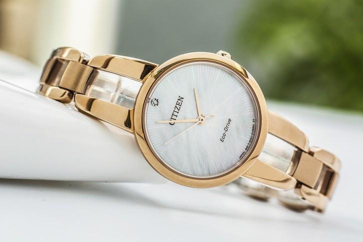 Đồng hồ nữ Citizen EM0433-87D trang bị công nghệ hiện đại - Ảnh 5
