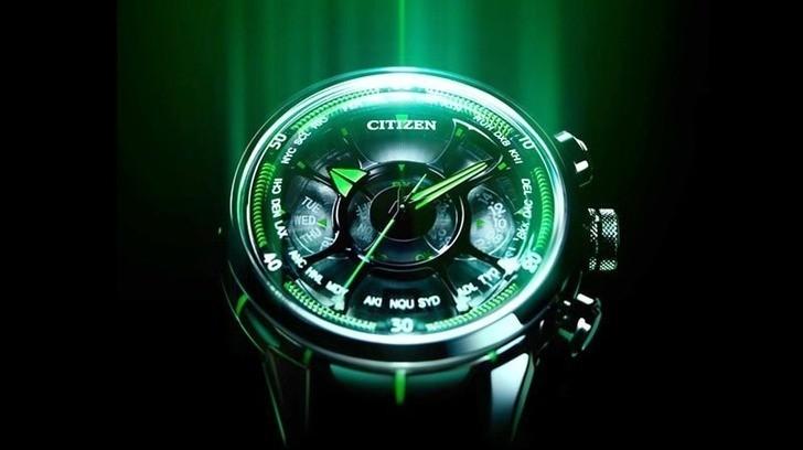 Đồng hồ Eco-Drive Citizen EM0579-14A năng lượng ánh sáng - Ảnh 3