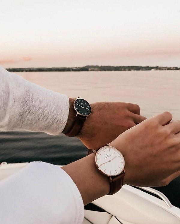Đồng hồ Daniel Wellington DW00100130 siêu mỏng, thời trang - Ảnh 4
