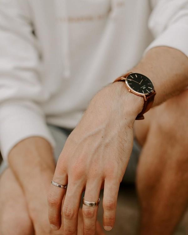 Đồng hồ Daniel Wellington DW00100130 siêu mỏng, thời trang - Ảnh 6