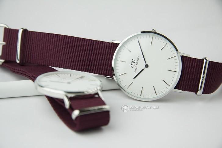 Đồng hồ Daniel Wellington DW00100272 chính hãng, mỏng 6mm - Ảnh: 2