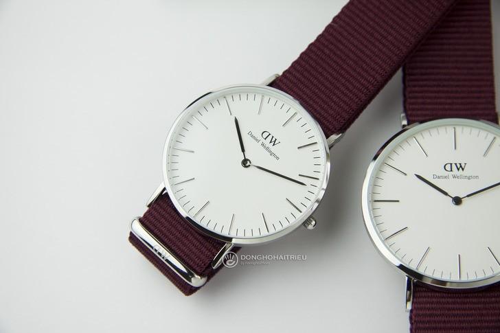 Đồng hồ Daniel Wellington DW00100272 chính hãng, mỏng 6mm - Ảnh: 3