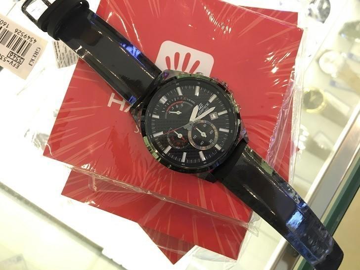Đồng hồ Casio EFV-530BL-1AVUDF có Chronograph, chịu nước 10ATM - Ảnh: 2