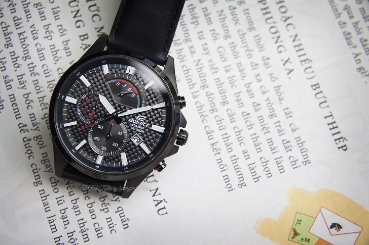 Đồng hồ Casio EFV-530BL-1AVUDF có Chronograph, chịu nước 10ATM - Ảnh: 4