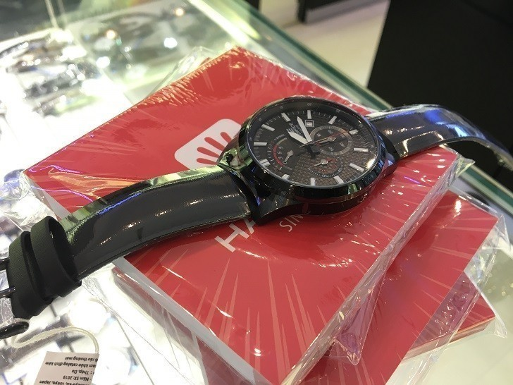 Đồng hồ Casio EFV-530BL-1AVUDF có Chronograph, chịu nước 10ATM - Ảnh: 6