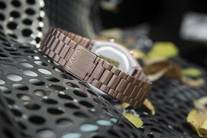 Đồng hồ điện tử Casio B640WC-5ADF mạ vàng hồng, hơn 7 tiện ích - Ảnh: 6