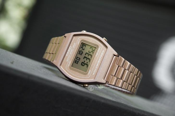 Đồng hồ điện tử Casio B640WC-5ADF mạ vàng hồng, hơn 7 tiện ích - Ảnh: 7