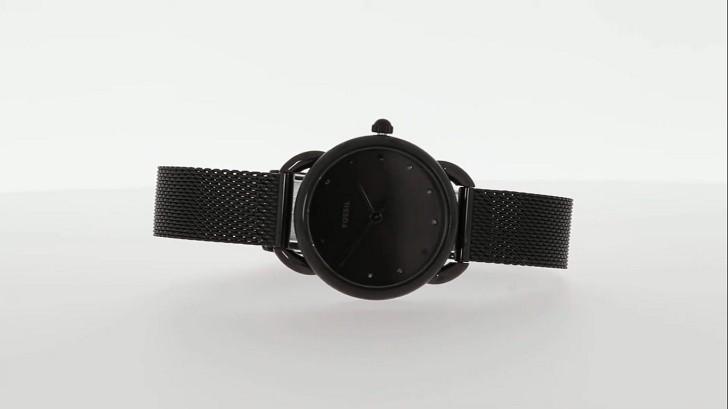 Đồng hồ Fossil ES4489 sắc đen đậm chất thời trang - Ảnh 1
