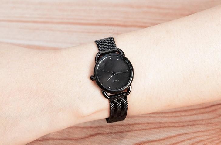 Đồng hồ Fossil ES4489 sắc đen đậm chất thời trang - Ảnh 6