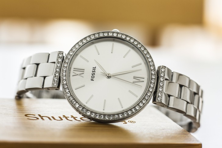 Đồng hồ Fossil ES4539 thời trang, đính đá pha lê sang trọng - Ảnh 2