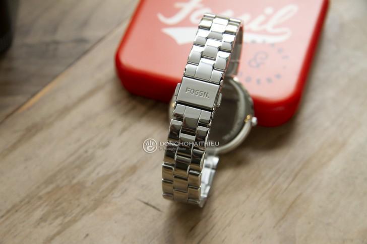 Đồng hồ Fossil ES4539 thời trang, đính đá pha lê sang trọng - Ảnh 4