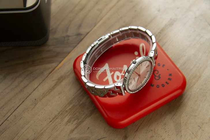 Đồng hồ Fossil ES4539 thời trang, đính đá pha lê sang trọng - Ảnh 6