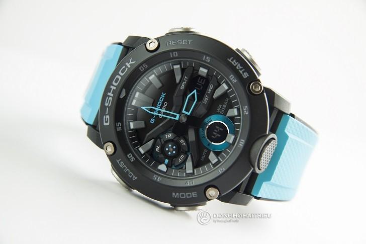 Đồng hồ G-Shock GA-2000-1A2DR tích hợp hàng loạt tính năng thể thao - Ảnh 1