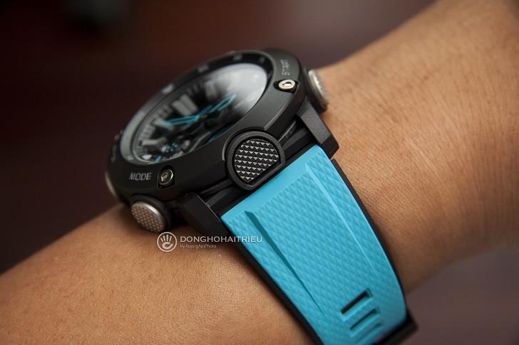 Đồng hồ G-Shock GA-2000-1A2DR tích hợp hàng loạt tính năng thể thao - Ảnh 3